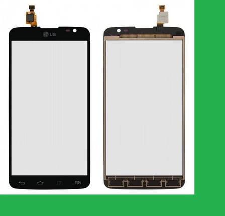 LG D686, D685, D864,G Pro Lite Dual Тачскрин (сенсор) черный, фото 2