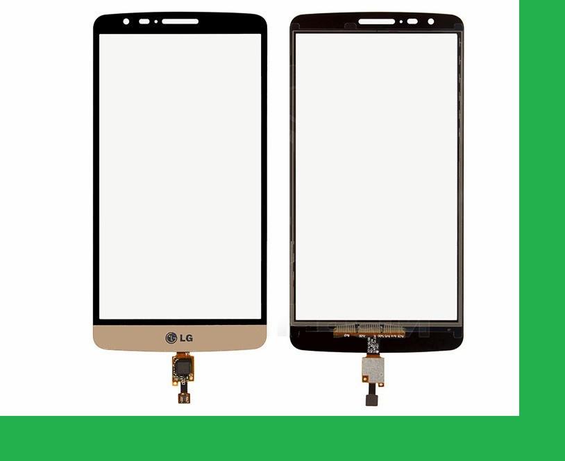 LG D690, D693, G3 Stylus Тачскрин (сенсор) золотистый