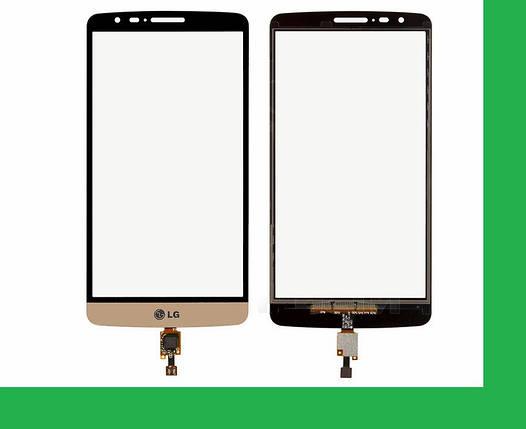 LG D690, D693, G3 Stylus Тачскрин (сенсор) золотистый, фото 2