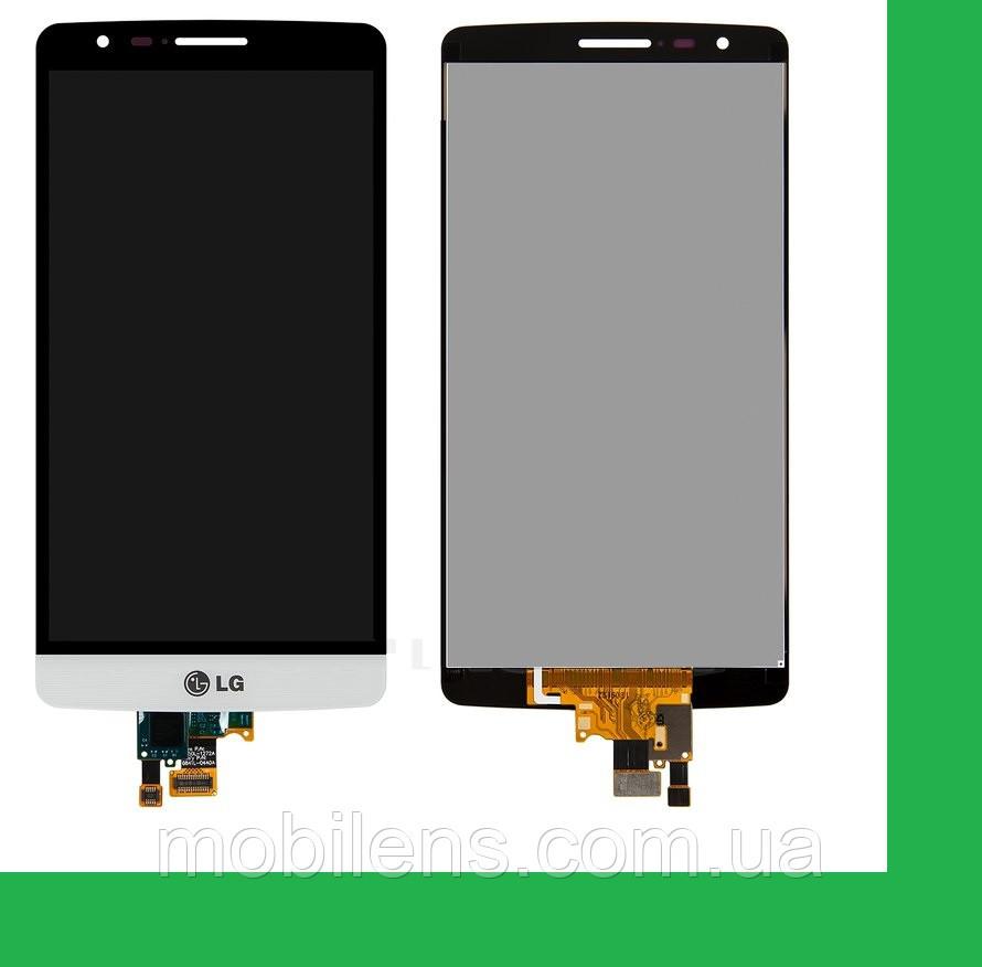 LG D724, D722, D725, D728, LG G3S, LG G3 mini Дисплей+тачскрин(сенсор) белый