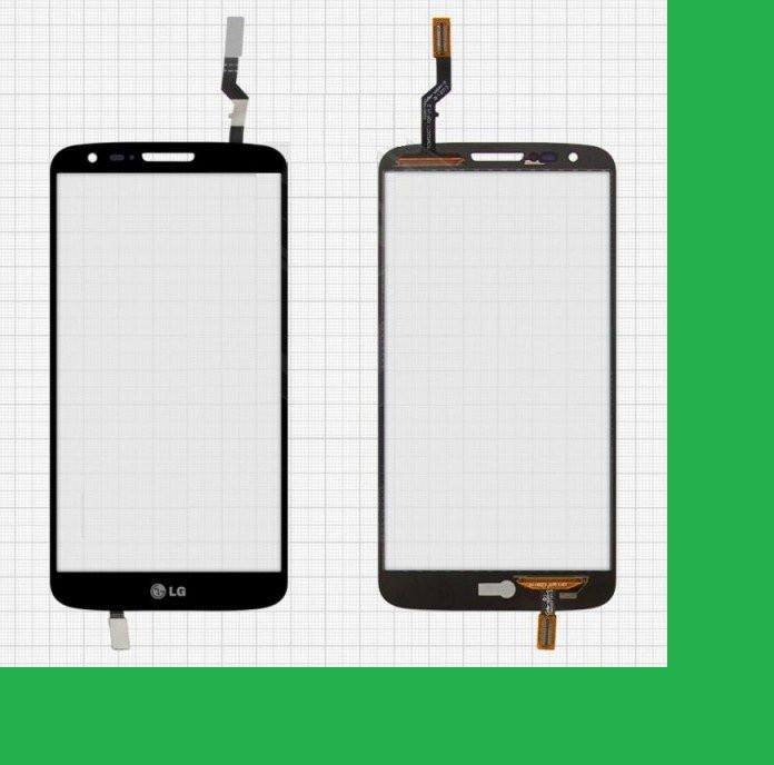 LG D800, 34pin, D801, D803, LS980, VS980, LG G2 Тачскрин (сенсор) чёрный