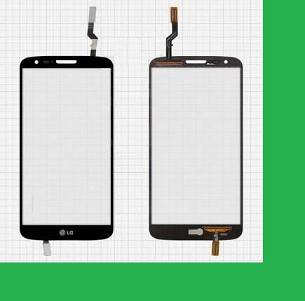 LG D800, 34pin, D801, D803, LS980, VS980, LG G2 Тачскрин (сенсор) чёрный, фото 2
