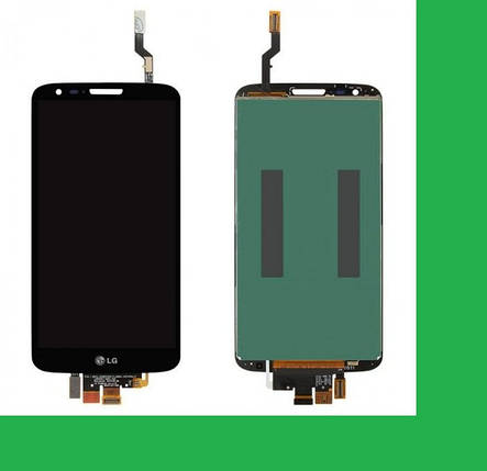 LG D800, 34pin, D801, D803, LS980, VS980, LG G2 Дисплей+тачскрин(сенсор) черный, фото 2