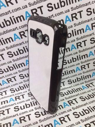 Чехол для 2D сублимации пластиковый на Samsung galaxy Ace 3 (S7272) черный, фото 2