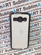 Чехол для 2D сублимации пластиковый на Samsung galaxy Ace 3 (S7272) черный, фото 3