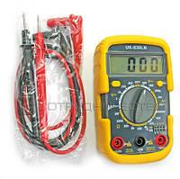 Цифровой мультиметр JTW-830LN тестер амперметр с подсветкой