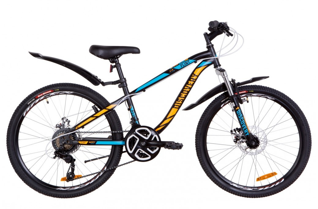 """Подростковый горный велосипед 24"""" Discovery Flint AM DD 2019"""