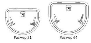 D-Образный палубный люк Lewmar с низким профилем