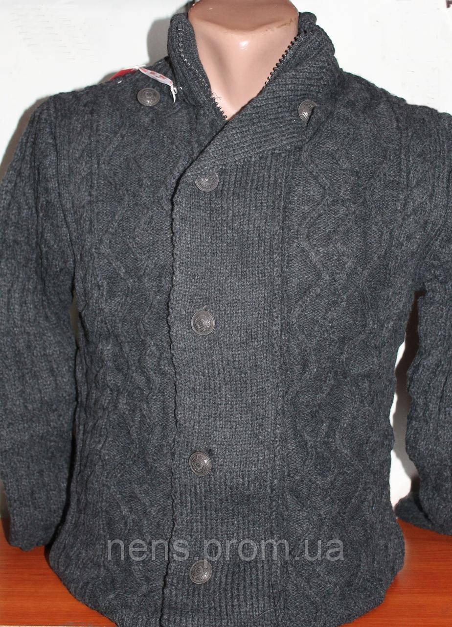 мужской вязаный пиджак Redpolo кардиган в категории пиджаки