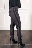 Укороченые брюки в коричневом стиле, фото 1