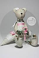 Tilda Мишка Люси с сердечком, фото 1