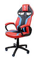 Поворотное спортивное игровое кресло DRAG Red