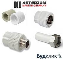 Муфти з'єднувальні для поліпропіленових труб Asterium