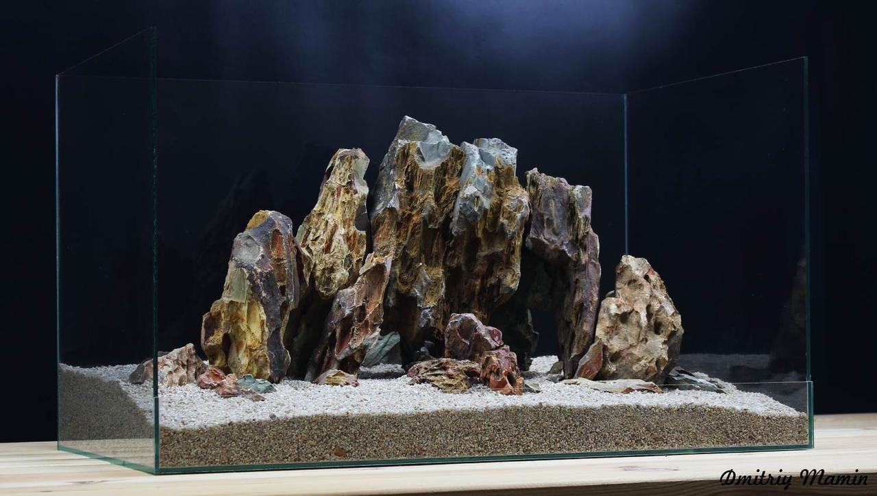 Композиция для аквариума из Дракона K110