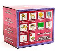 Развивающая игра Карточки Домана немецко-русский чемоданчик «Вундеркинд с пеленок» - 10 наборов