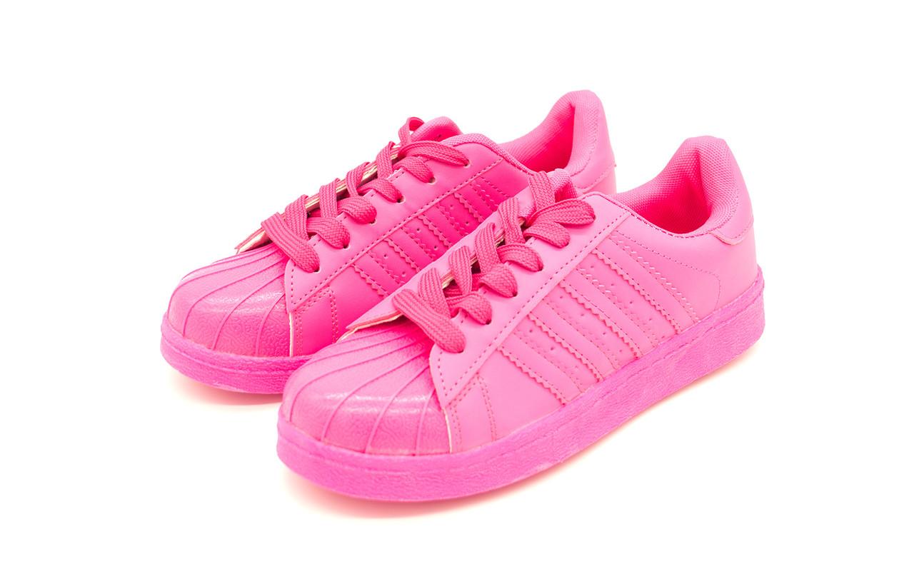 Кроссовки подростковые розовые