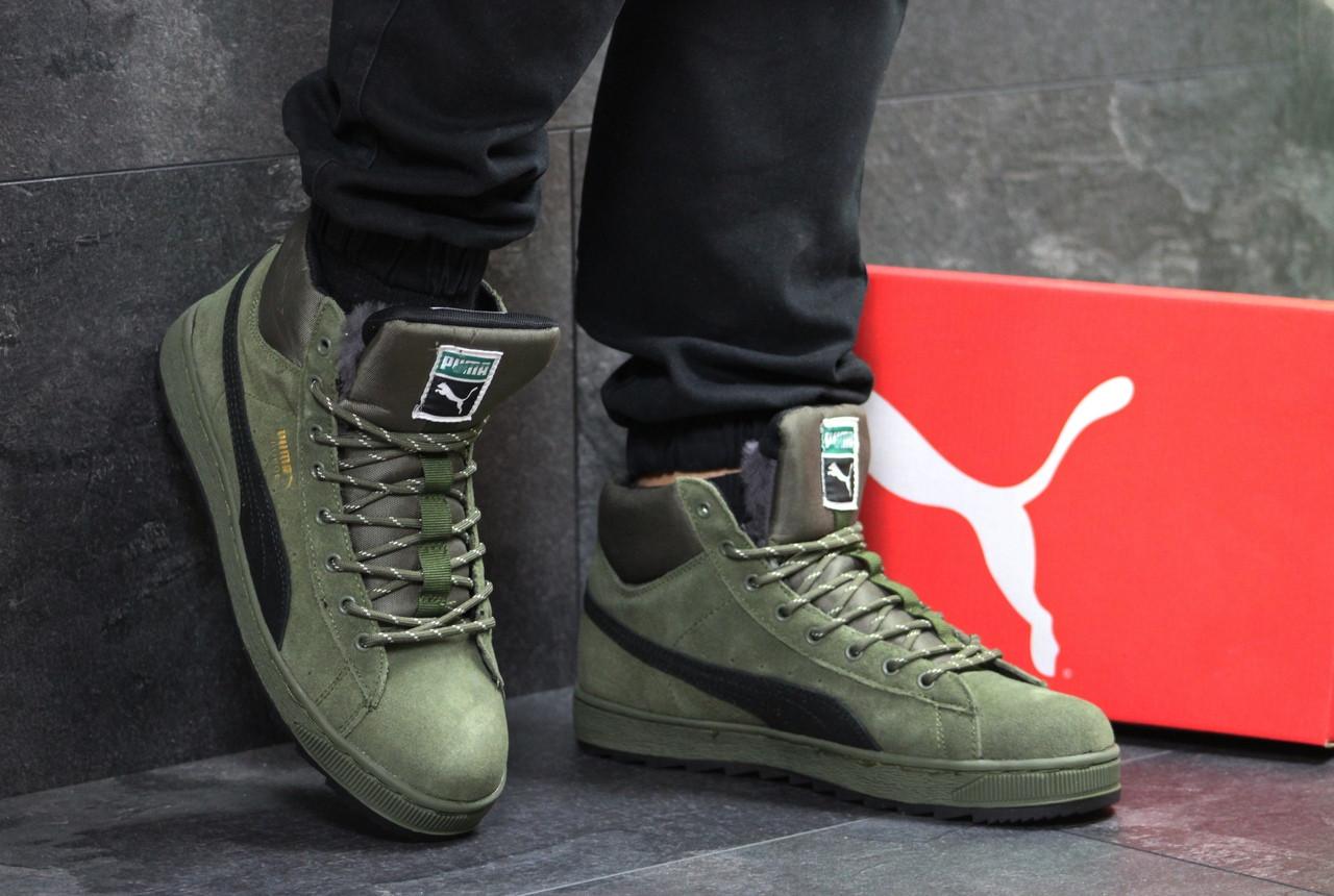 Мужские зимние кроссовки Puma Suede  продажа cf3d491e3c319