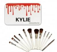Профессиональный Набор Кистей Make-up Brush Set В Стиле Kylie