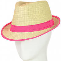 Шляпа Челентанка 12017-1 малиновый #O/V