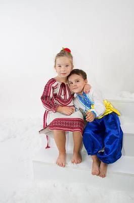 Украинские национальные костюмы, Костюмы вечера на Хуторе близ Диканьки