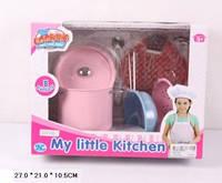 Посуда металлическая S001AB 8 предметов