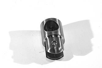KLC-02-10-02 Крепление штанги к стеклу глухое поворотное под диаметр штанги 18-19 мм, хром