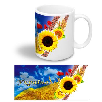 Чашки с украинской символикой
