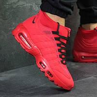 Nike Air Max Sneakerboot 95 Red (реплика)