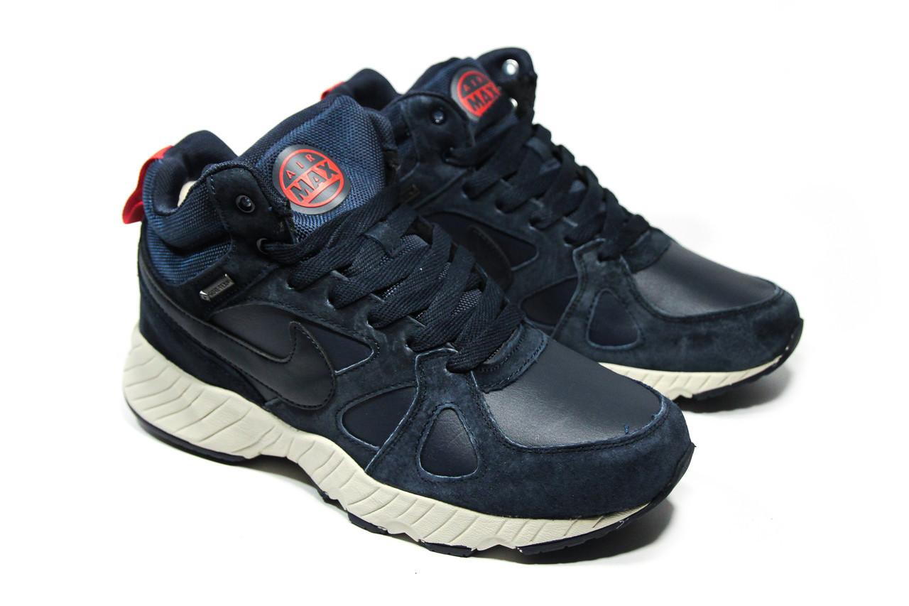 d56112aea Зимние ботинки (на меху) мужские Nike Air Max 1-153 (реплика), цена ...