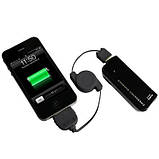 Аварийное зарядное устройство для телефона от 2х батареек АА, фото 3