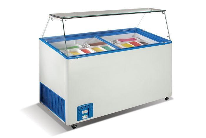 Витрина морозильная для мороженого Crystal VENUS VETRINE 46