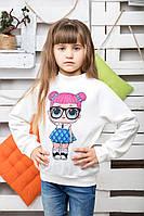 Свитшот на девочку Кукла Лол молоко, фото 1