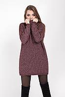 Объемный модный свитер