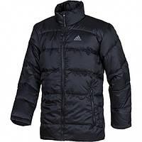 Куртка пуховик спортивная, мужская Adidas winter down P91208 адидас