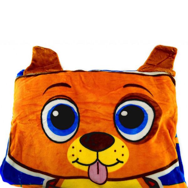 Детское постельное белье (покрывало-мешок) ZippySack Голубой с оранжевым  щенком af95426b9daa5