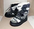 Місяцеходи - чоботи дівчаткам, р. 29, устілка 19,3 см, фото 4