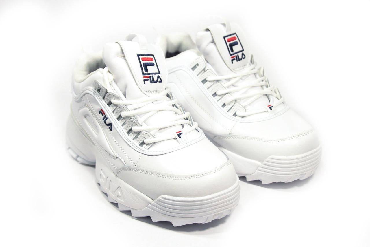 0fa727524935 Зимние кроссовки (НА МЕХУ) женские FILA (реплика) 10-123  продажа ...