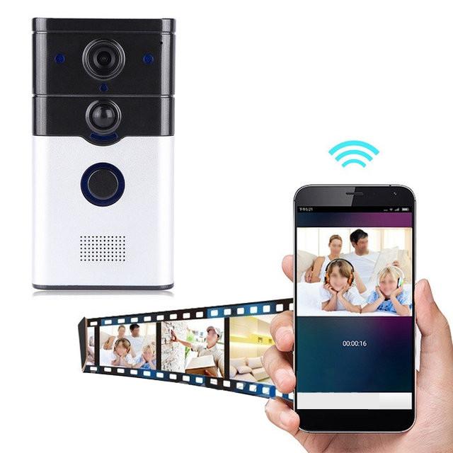 Камера домофон WIFI CAD 720P управление с телефона (3268)