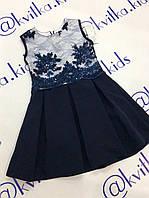 Платье школьное на девочку 122-158 см