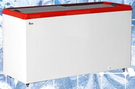 Ларь морозильный с прямым стеклом Juka ТМ Юка M500P