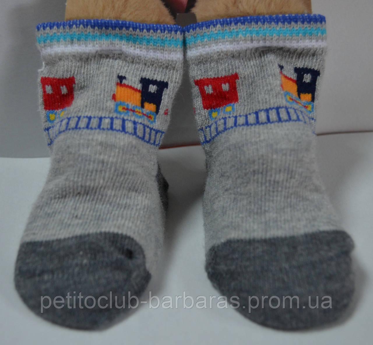 Носки для новорожденных Поезда (Oztas, Турция)