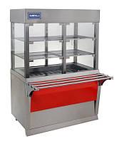 Витрина холодильная кондитерская напольная КИЙ-В ВК-1500 Эксклюзив