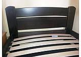 """Односпальная кровать """"Венеция"""" из бука (щит, массив), фото 3"""