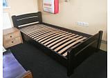 """Односпальная кровать """"Венеция"""" из бука (щит, массив), фото 4"""