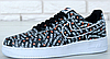 Кроссовки мужские Nike Air Force 1 Low Just Do It Pack Black, найк аир форс, реплика