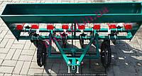Сеялка зерновая с бункером для удобрений 8-рядная для мотоблока/мототрактора (диски), фото 1