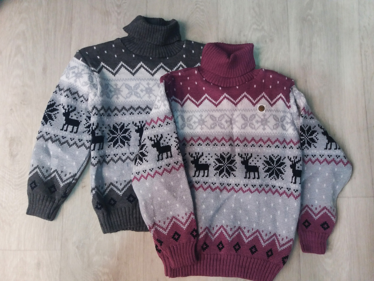 детский вязаный свитер на мальчика под горло 116122128134 в