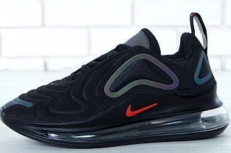 Мужские кроссовки Nike Air Max 720 Black (Найк Аир Макс)