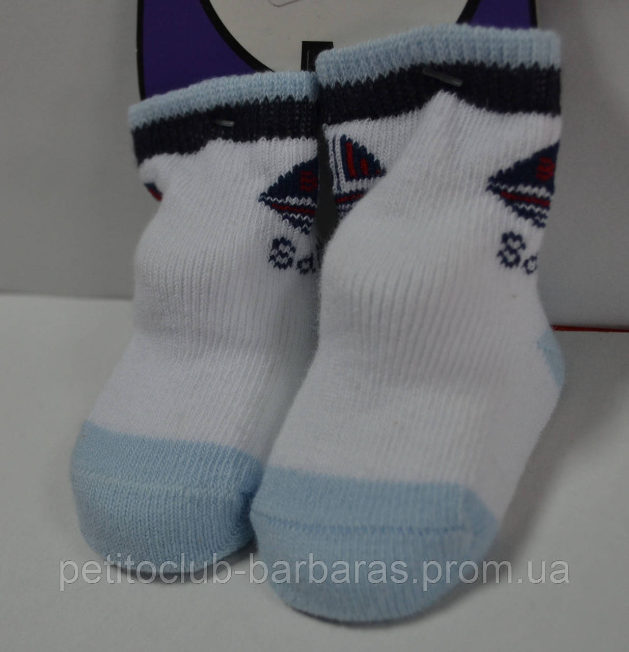 Носки для новорожденных Кораблик (Oztas, Турция)
