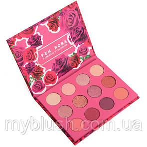 Тени для глаз Colourpop Karrueche Fem Rosa (12 цветов)
